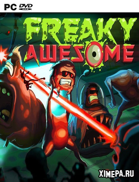 постер игры Freaky Awesome