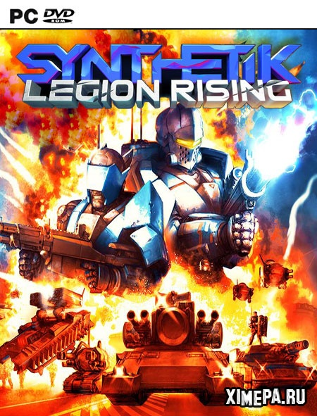 постер игры Synthetik: Legion Rising