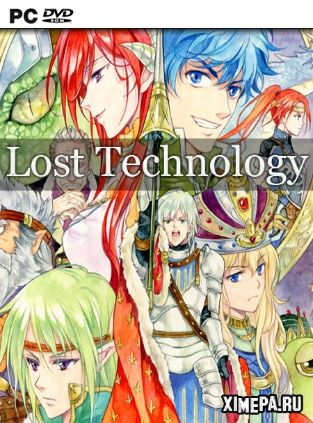постер игры Lost Technology