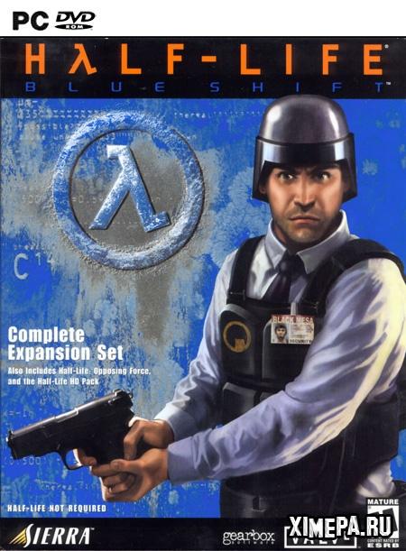 постер игры Half-Life: Blue Shift
