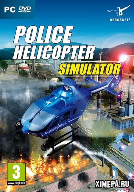 постер игры Police Helicopter Simulator
