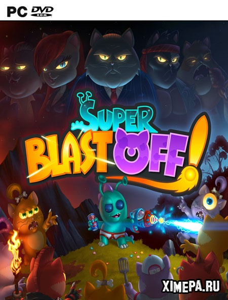 постер игры Super Blast Off