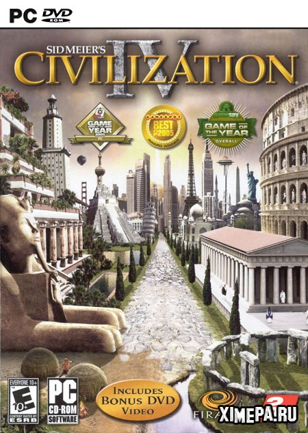 постер игры Sid Meier's Civilization IV