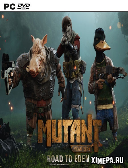 постер игры Mutant Year Zero: Road to Eden