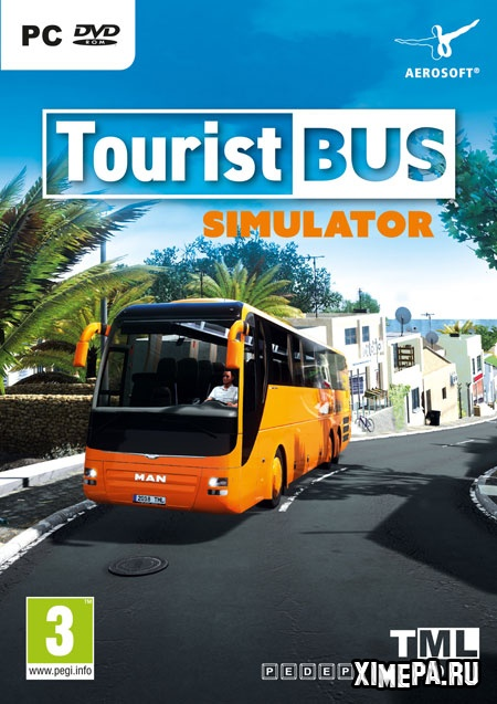 постер игры Tourist Bus Simulator