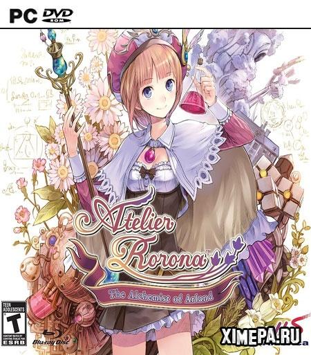 постер игры Atelier Rorona ~The Alchemist of Arland~ DX
