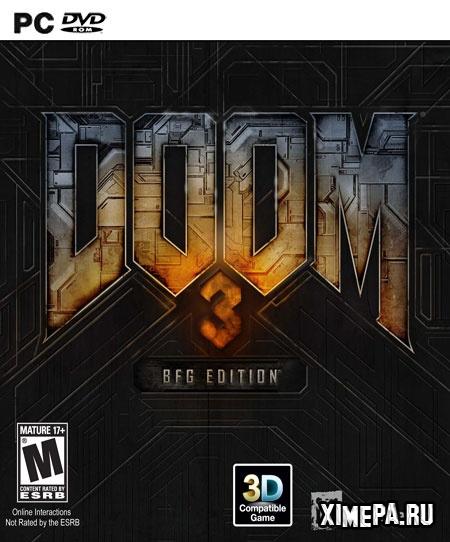 постер игры Doom 3: BFG Edition