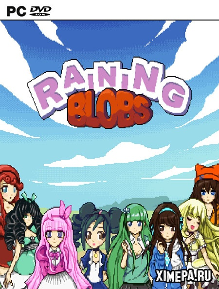 постер игры Raining Blobs
