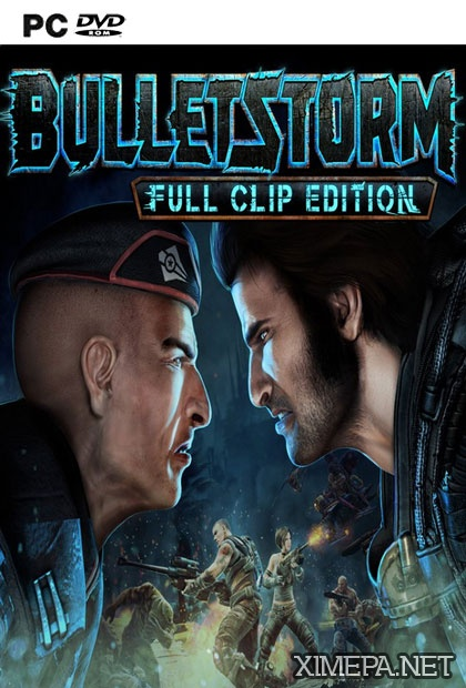 постер игры Bulletstorm: Full Clip Edition