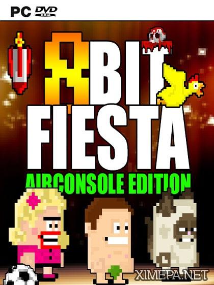 постер игры 8Bit Fiesta