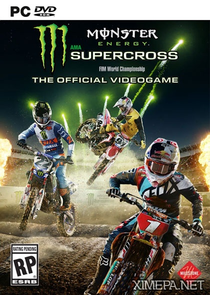 постер игры Monster Energy Supercross - The Official Videogame