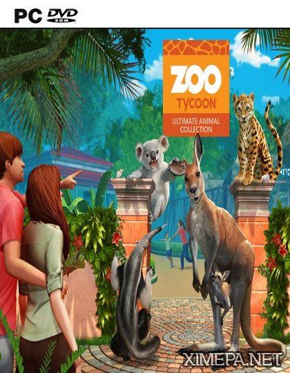 постер игры Zoo Tycoon: Ultimate Animal Collection