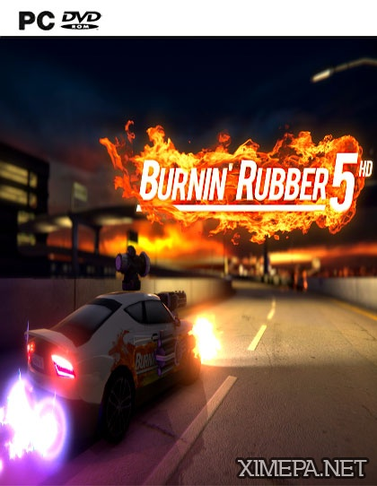 постер игры Burnin Rubber 5 HD