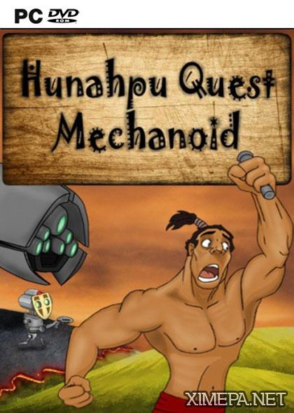 постер игры Hunahpu Quest. Mechanoid