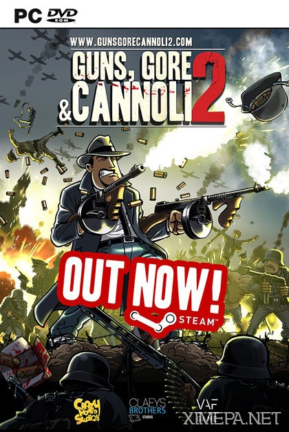 постер игры Guns, Gore & Cannoli 2