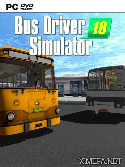 постер игры Bus Driver Simulator 2018
