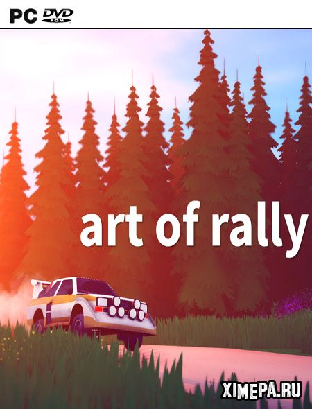 постер игры art of rally