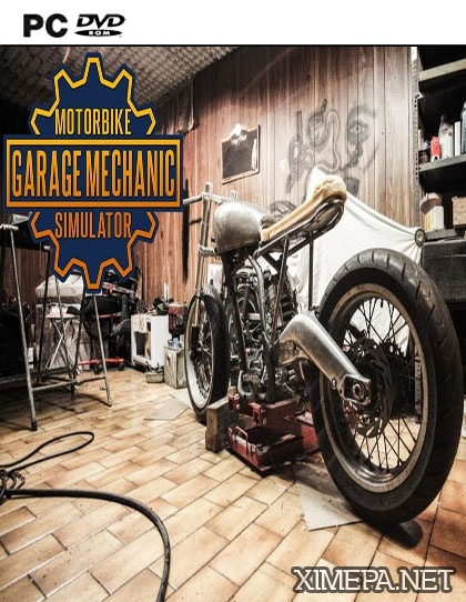 постер игры Motorbike Garage Mechanic Simulator