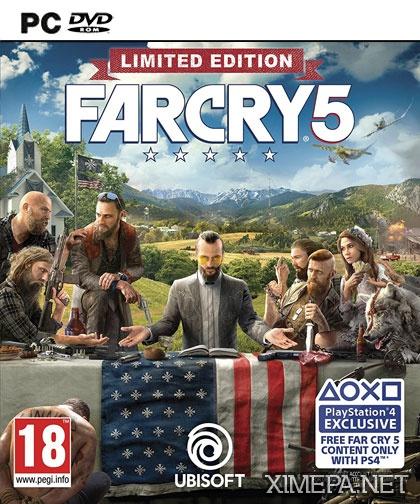 постер игры Far Cry 5