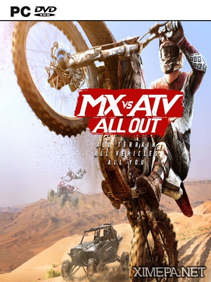 постер игры MX vs ATV All Out