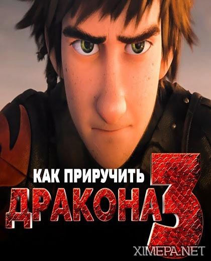 постер мультфильма Как приручить дракона 3
