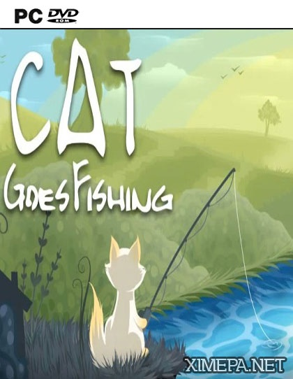 постер игры Cat Goes Fishing