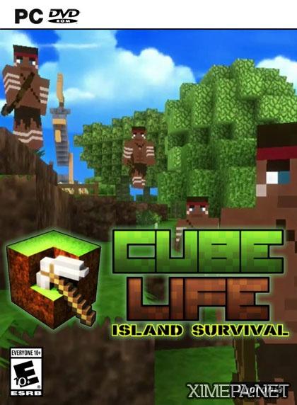 постер игры Cube Life: Island Survival