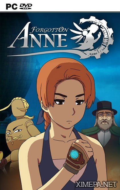 постер игры Forgotton Anne
