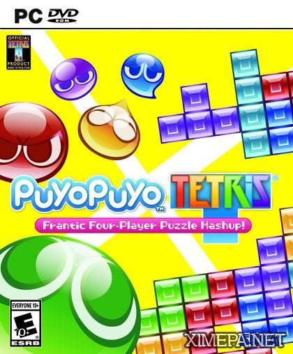 постер игры Puyo Puyo Tetris