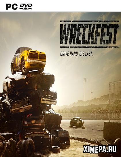 постер игры Wreckfest