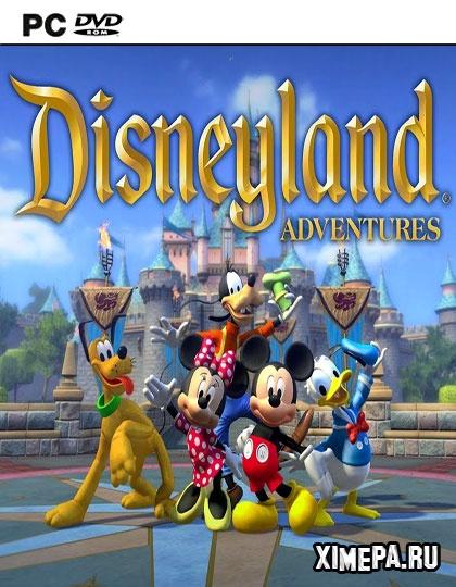 постер игры Disneyland Adventures