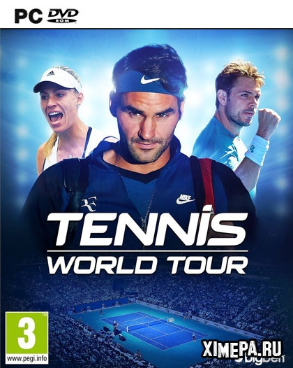 постер игры Tennis World Tour