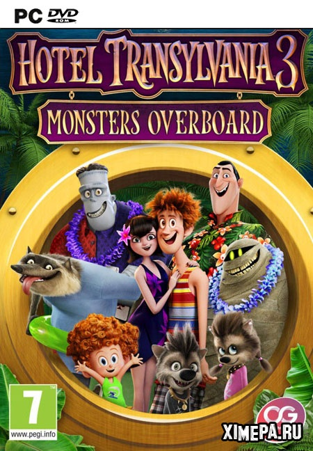 постер игры Hotel Transylvania 3: Monsters Overboard