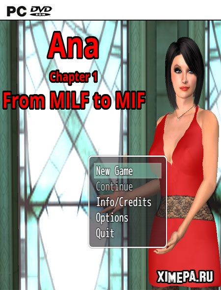 постер игры Ana, Chapter 1-3: From MILF to MIF