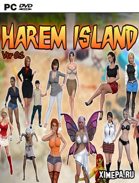 постер игры Harem Island Unofficial Ren'Py Version