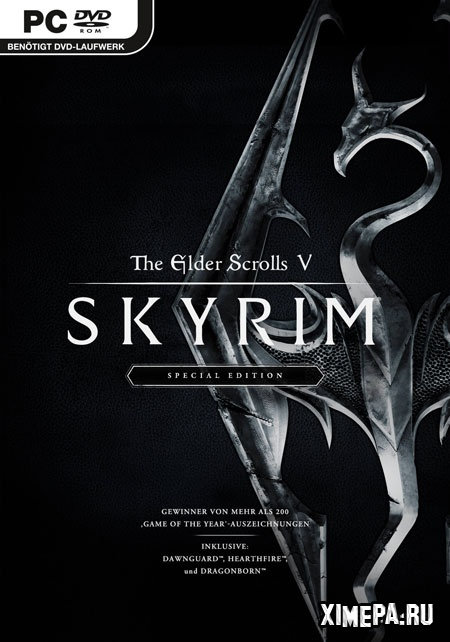 постер игры The Elder Scrolls V: Skyrim - Special Edition