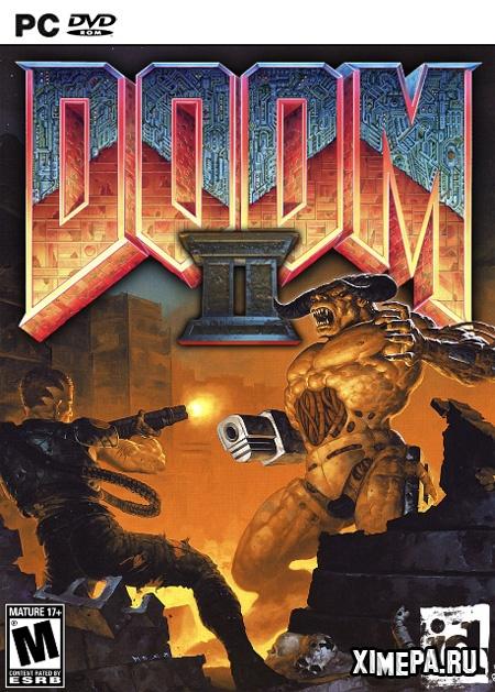 постер игры Doom 2: Hell on Earth