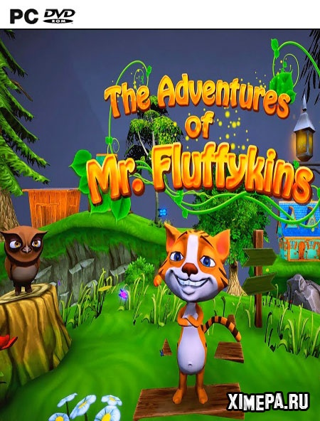 постер игры The Adventures of Mr. Fluffykins