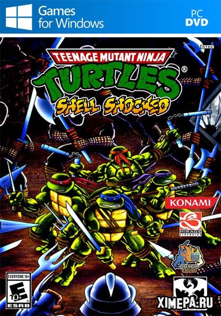 постер игры Teenage Mutant Ninja Turtles: Shell Shocked