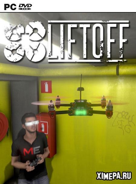 постер игры Liftoff: FPV Drone Racing