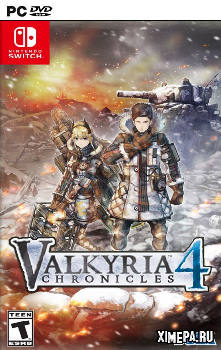 постер игры Valkyria Chronicles 4