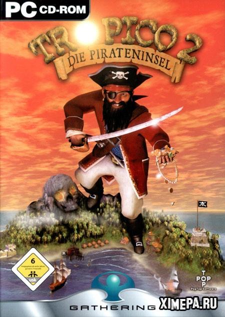 постер игры Tropico 2: Pirate Cove