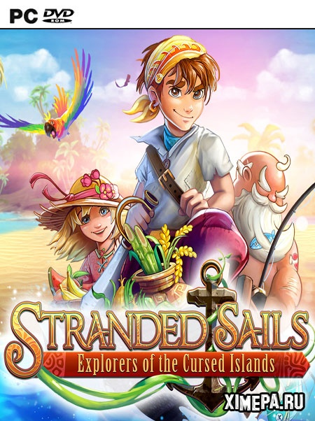 постер игры Stranded Sails Explorers of the Cursed Islands