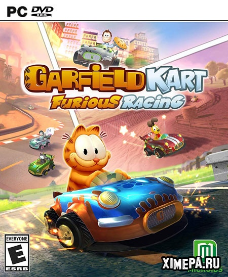 постер игры Garfield Kart - Furious Racing