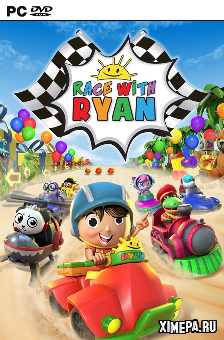 постер игры Race With Ryan