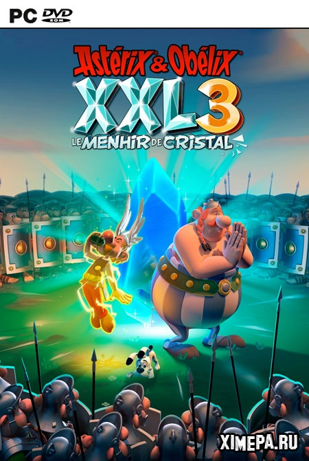 постер игры Asterix & Obelix XXL 3 - The Crystal Menhir
