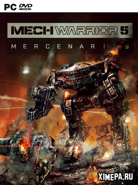 постер игры MechWarrior 5: Mercenaries