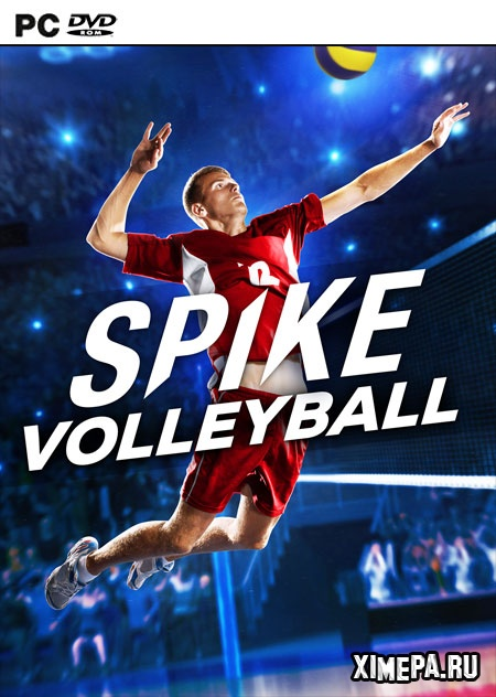 постер игры Spike Volleyball