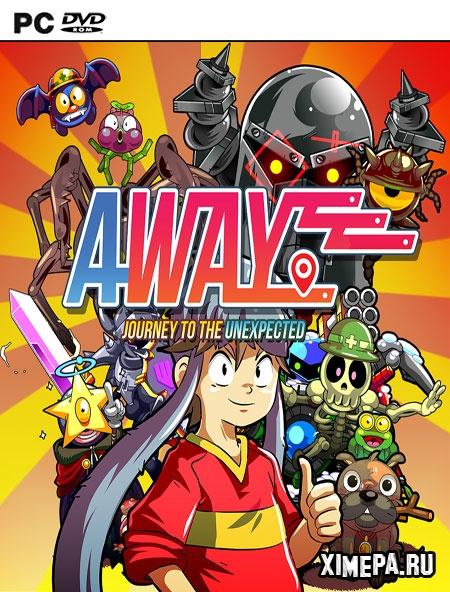 постер игры AWAY: Journey to the Unexpected
