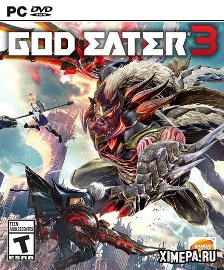 постер игры GOD EATER 3